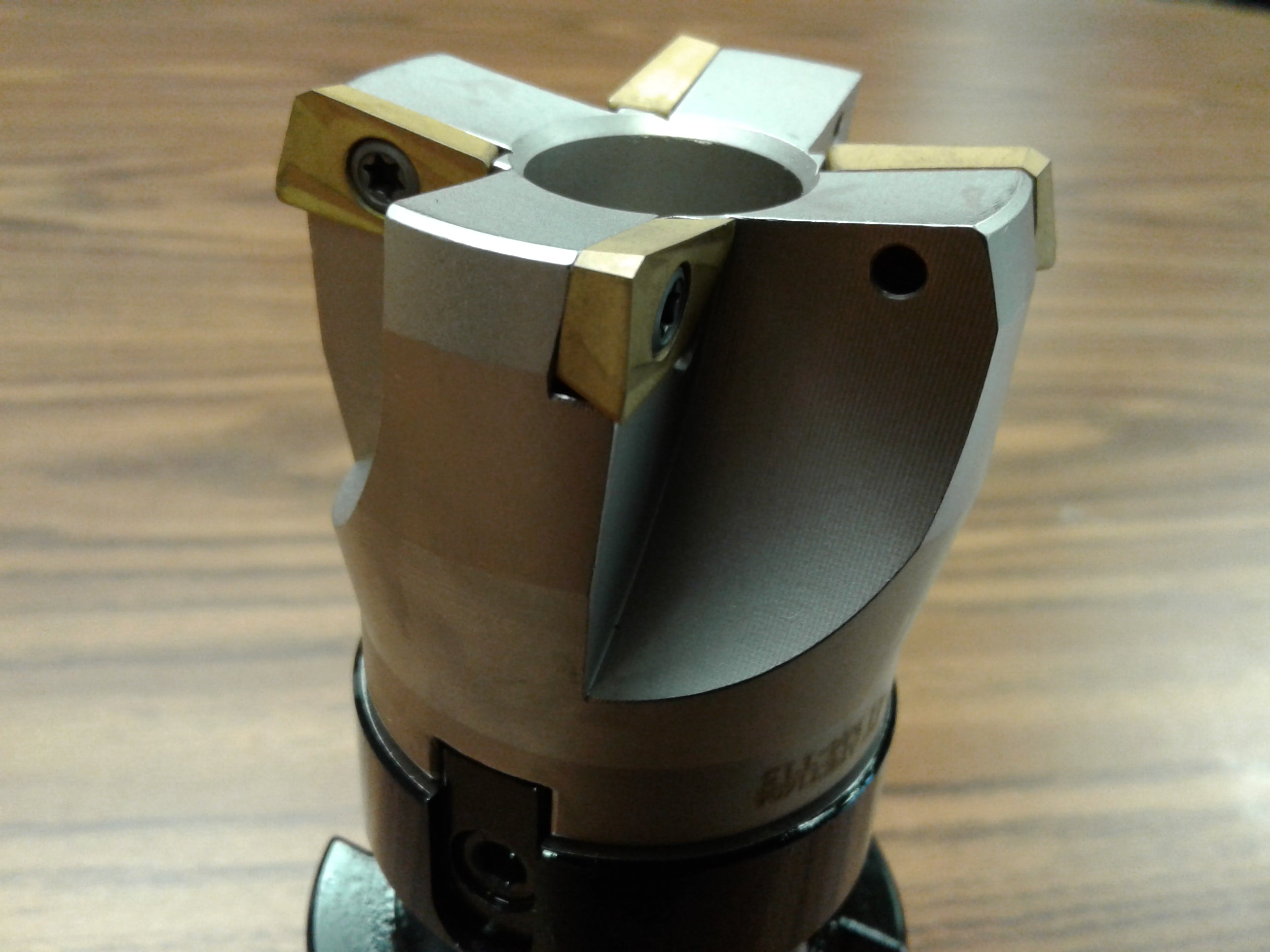 """CAT40 arbor,APKT #506-75AP-20 2/"""" 75 degree indexable face shell mill cutter"""