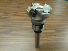 "2-1/2"" 45 degree indexable face shell mill MT3 Arbor ,face milling cutter -new"