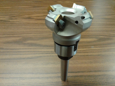 "2-1/2"" 45 degree indexable face shell mill MT2 Arbor ,face milling cutter -new"