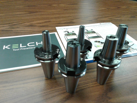5 any sizes Shrink Fit CAT40 end mill holders Germany KELCH brand G2.5/25000RPM