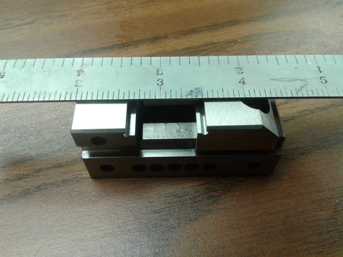 "1"" Precision Grinding Screwless Mini Insert Vise Toolmaker Steel .0002"""