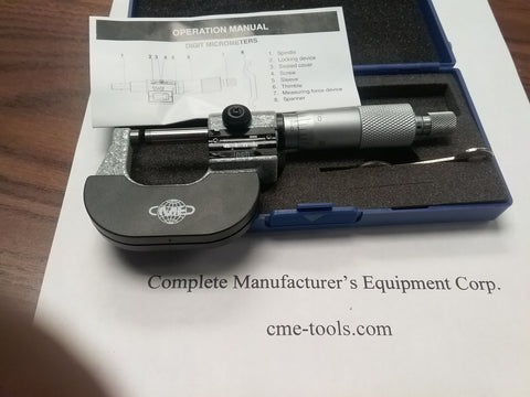 Digital Outside Micrometers and Sets