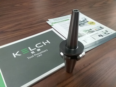 8mm x 120mm Shrink Fit BT40 metric end mill holder Germany KELCH G2.5/25000RPM