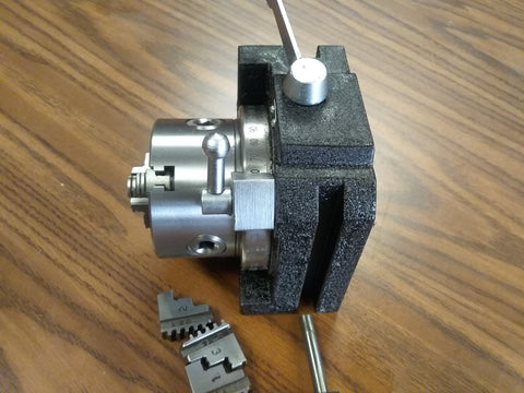 "Super Rapid Indexer w. 3"" 3-jaw chuck horizontal & vertical extra jaws #SS-300"