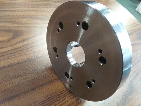 "6"" D1-5, D5 Semi-Finished adapter Plate for LATHE CHUCKS #ADP-06-D5SM-NEW"