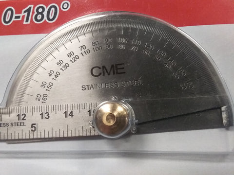Angle Protractor Brass Nut 0-180°  IN-GDP-6922-new