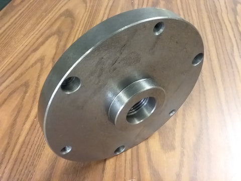 "1-1/2""-8 Finished adapter Plate for 8"" self-centering LATHE CHUCKS #ADP-08-1128"