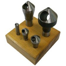 0 Flute Counter Sinks-5PCS/Set