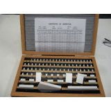 81 PCs/Set Ceramic Gauge Block Sets With Certificates