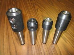 MT4 END MILL HOLDERS, Morse Taper 4 End Mill Holders--4 pcs of select sizes