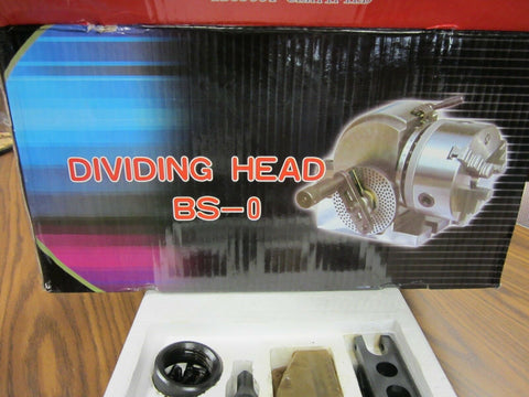 BS-0 or BS-1 Dividing Heads with chuck