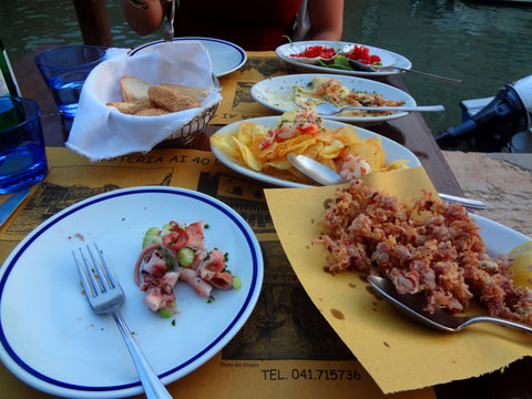 Venice Sea Food | Venice, Italy | Simply Pallets