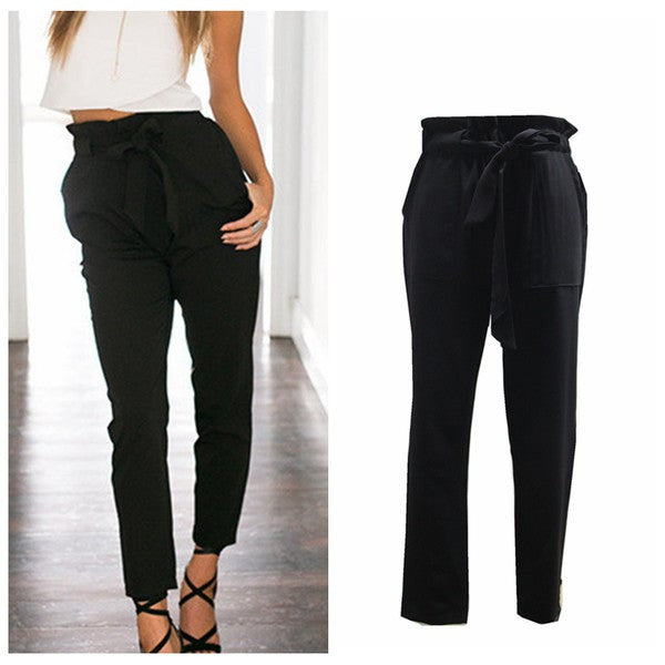 High Waist Bottoms (Black)