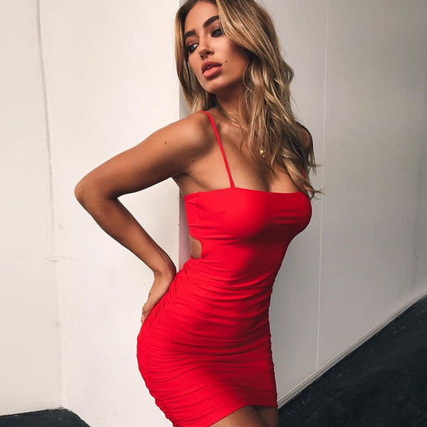 Bombshell Bodycon (red)