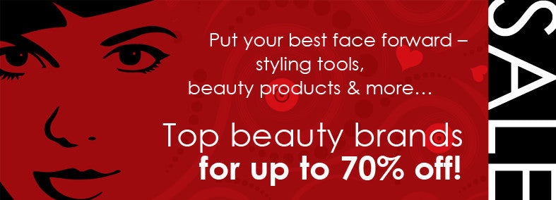 Top beauty brands for up to 70% off!