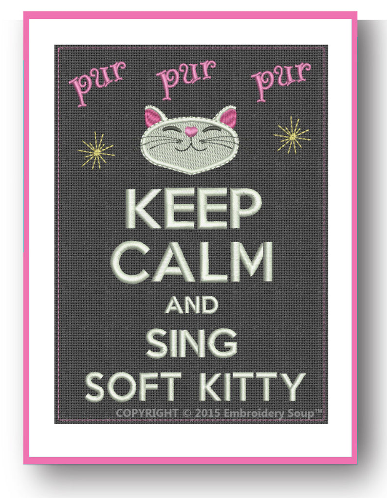 Sing Soft Kitty