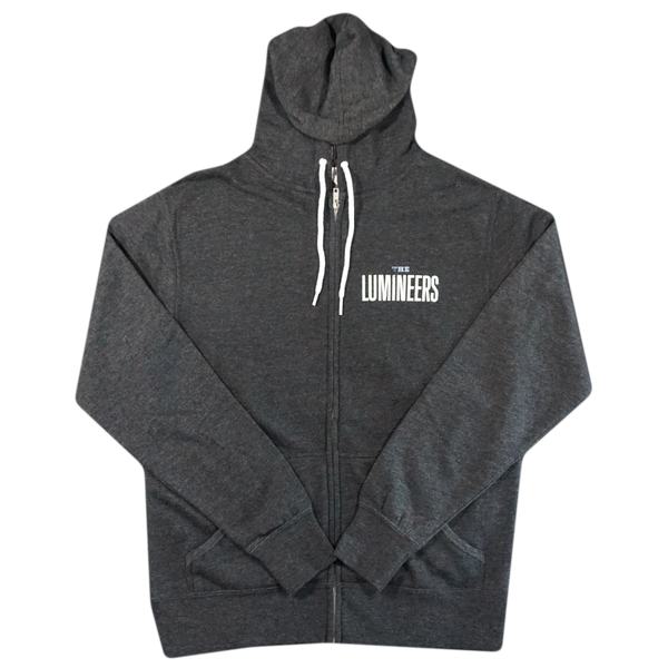 Dark Heather 45 Stereo Sound Zip Hoodie