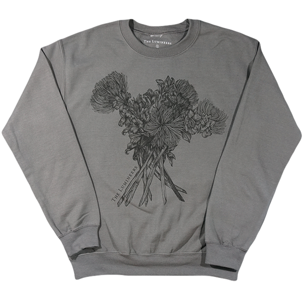 Charcoal Bouquet Crewneck