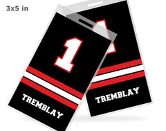 3x5 Custom Bag Tags