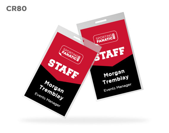 CR80 Custom Name Badges