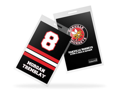 Oakville Hornets Custom Bag Tags
