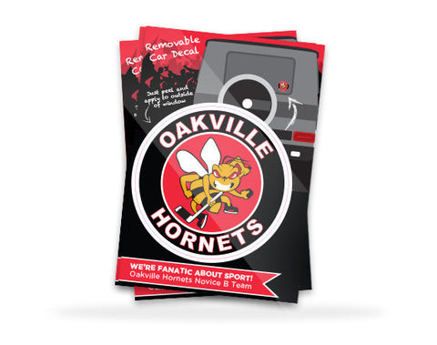Oakville Hornets Car Decal