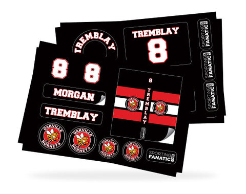 Hockey Label Pack