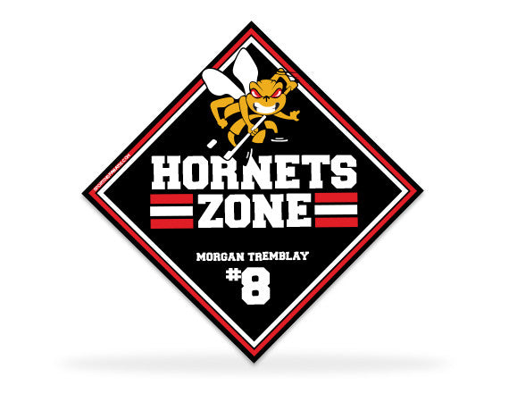 Oakville Hornets Bedroom Signs