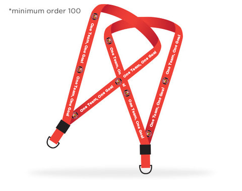 Copy of Custom Printed Lanyards