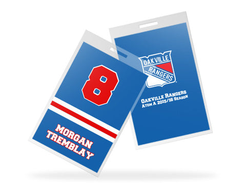 Oakville Rangers Custom Bag Tags
