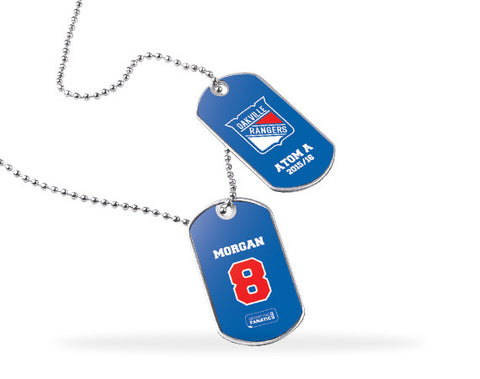 Oakville Rangers Dog Tags