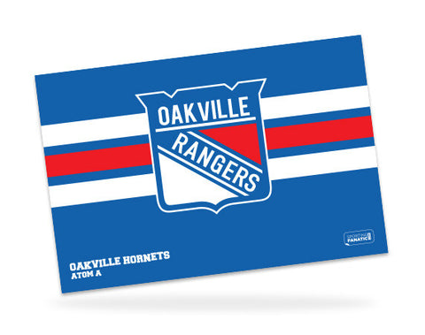 Oakville Rangers Custom Door Signs