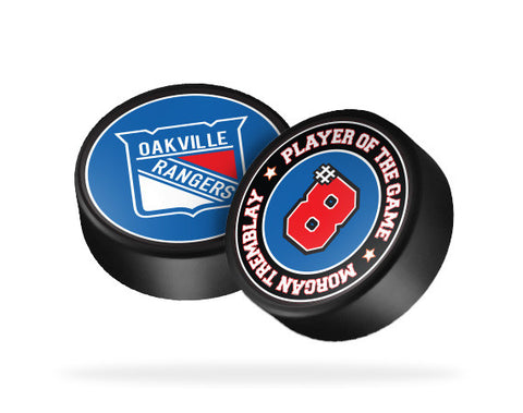 Oakville Rangers Hockey Puck Sticker (Discounted)
