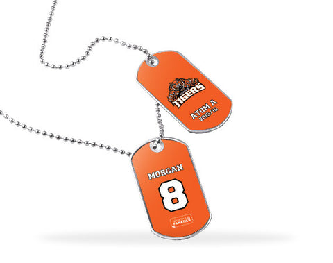 Oakville Tigers Dog Tags