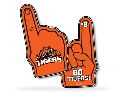 Oakville Tigers Plastic Foam Finger