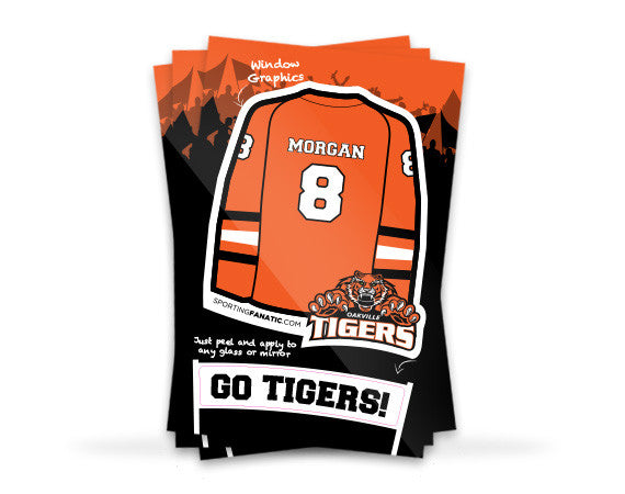 Oakville Tigers Jersey Sticker