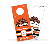 Oakville Tigers Locker Marker