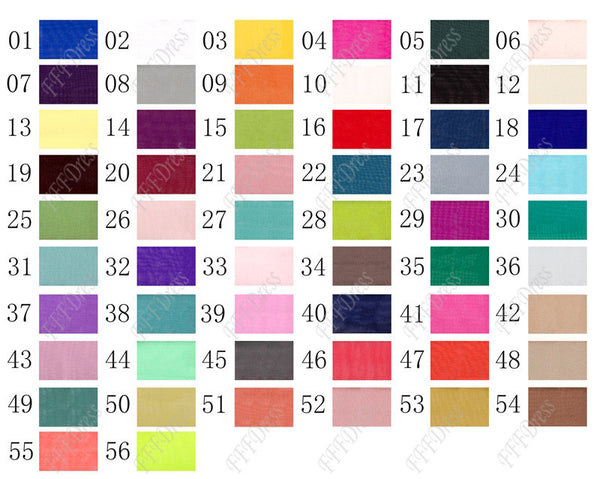 Color chart swatch