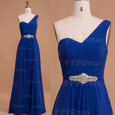 Royal blue Maid of Honor Dresses Bridesmaid Dresses