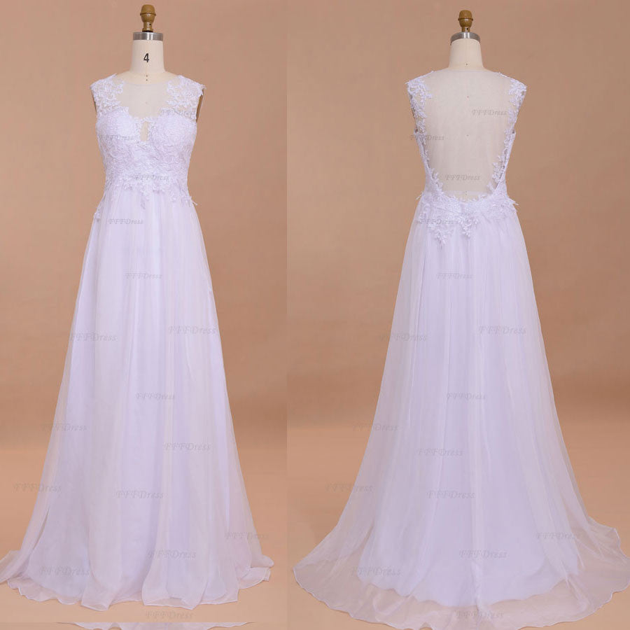9e5973f8a Backless wedding dresses chiffon beach wedding dresses Lace destination wedding  dresses