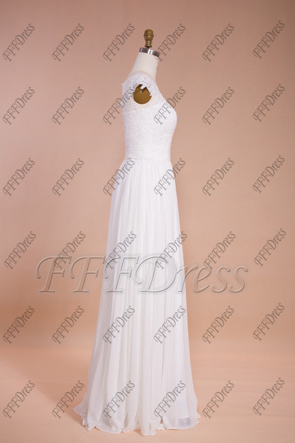 a6b1f107c ... Chiffon beach wedding dresses destination bridal dresses ...