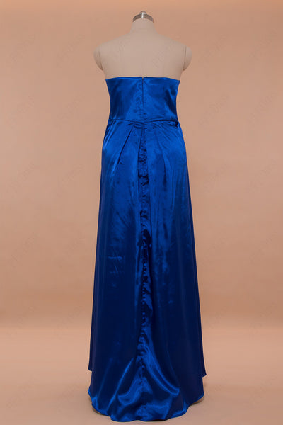 Royal blue Maternity Bridesmaid Dresses for pregnant