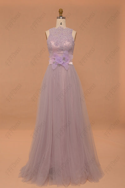 Dusty lavender Prom Dresses bridesmaid dresses