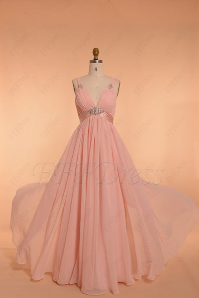 Pink Maternity Formal Dresses for pregnant