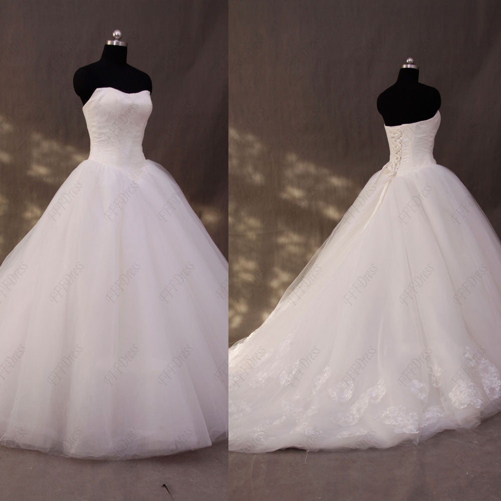 Sweetheart princess wedding dresses