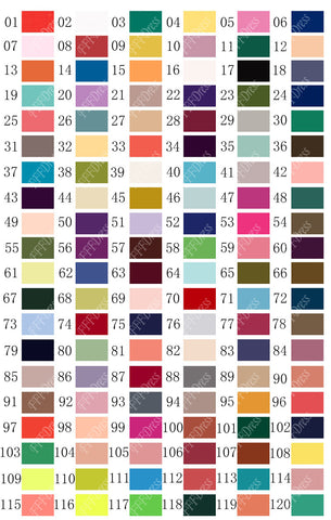 Pearl Chiffon Color Swatch