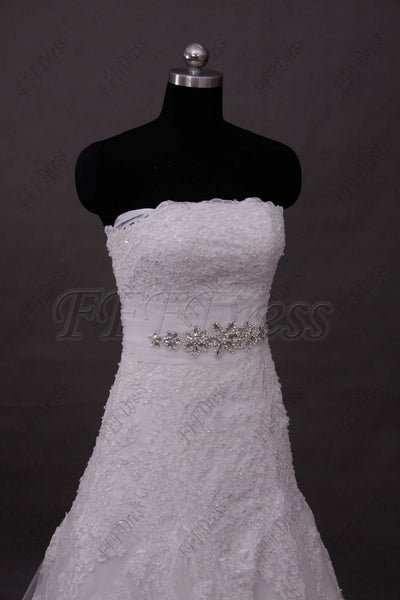 Lace wedding dress with bolero off the shoulder wedding dresses with sleeves