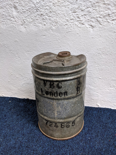 V.B.C London Oil Can