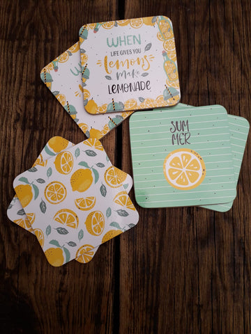 Set of 6 Summertime Coasters