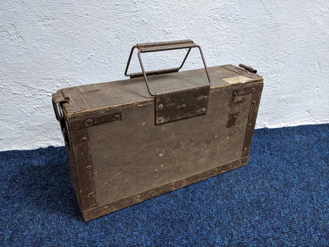 Vintage Ammunition Box